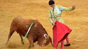 El utrerano Daniel Araujo cumple su sueño y debuta con picadores