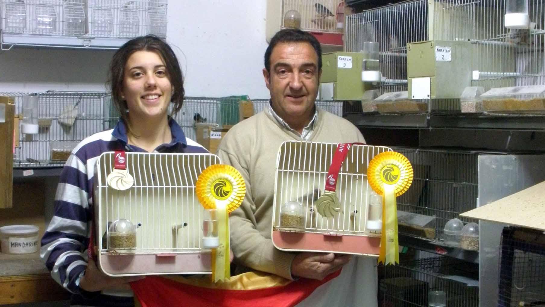 Fernando Ruiz es uno de los utreranos que ha conseguido varias medallas