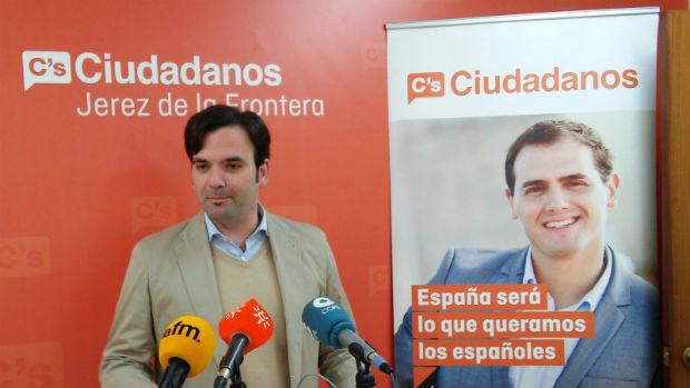 Mario Rosado, concejal de Ciudadanos Jerez
