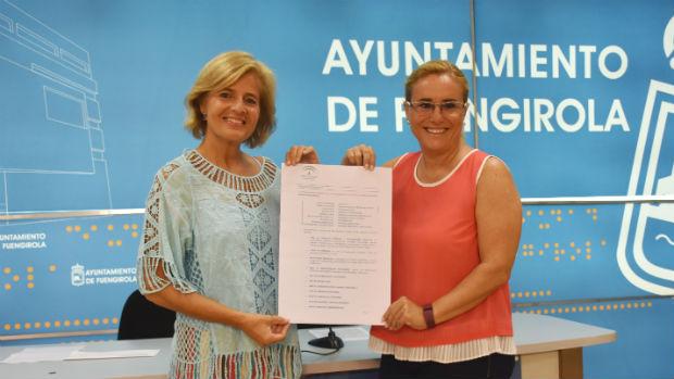 Oña y Mula con el catálogo de servicios que tendrá el centro remitido por Salud / ABC