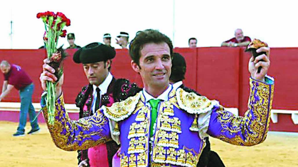 El torero utrerano Luis Vilches