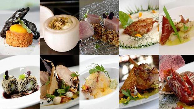 Platos seleccionados en los restaurantes que participan en Cádiz y Sevilla. | L.V
