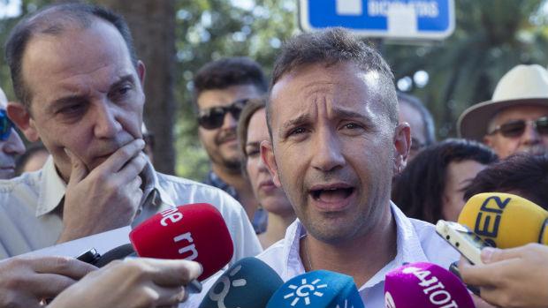 Rueda de prensa ofrecida este viernes por Juan José Espinosa / EFE