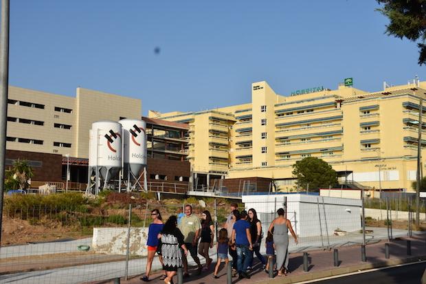 El Hospital Costa del Sol y la ampliación paralizada