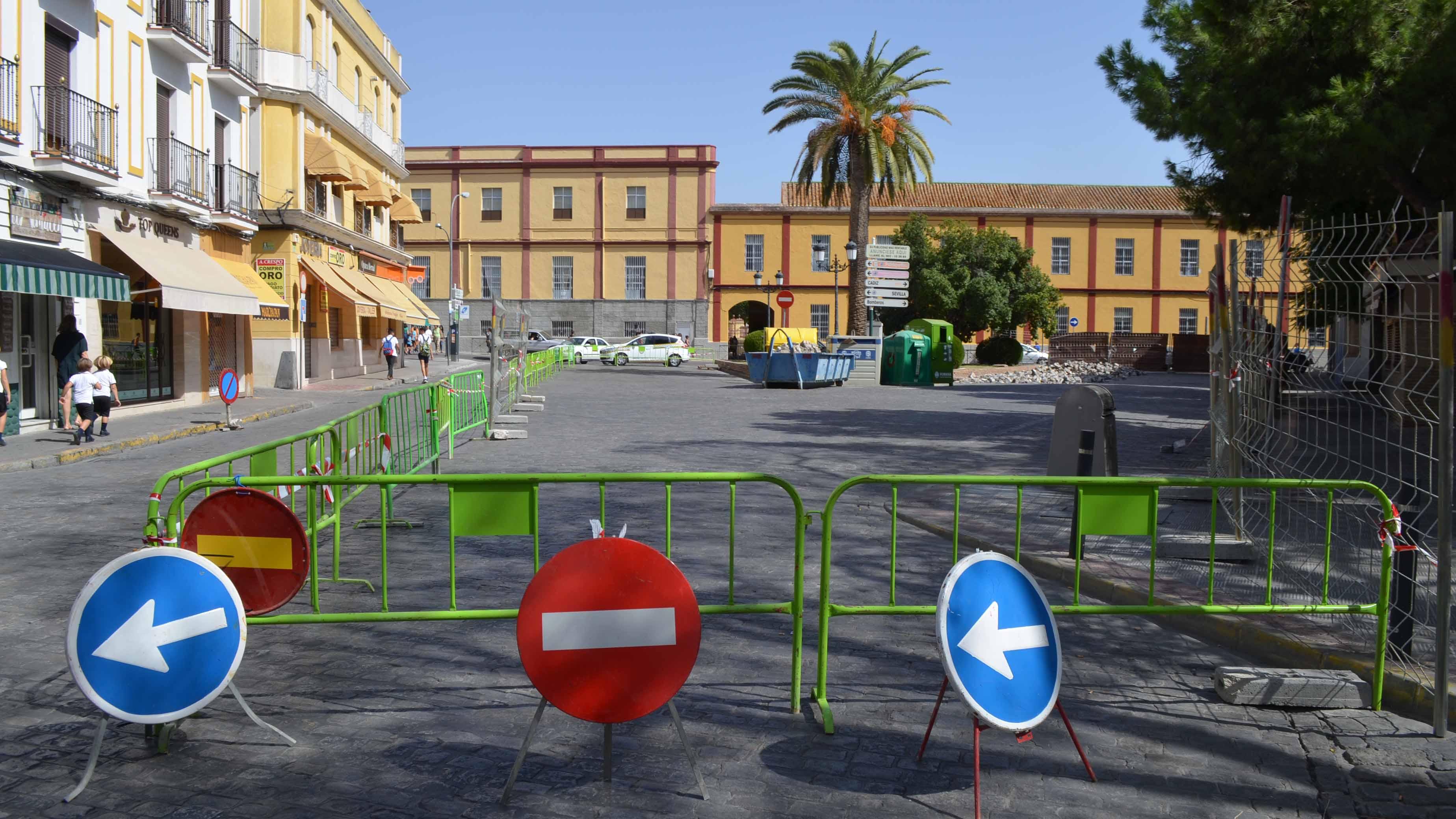 La glorieta Pío XII de Utrera será peatonal