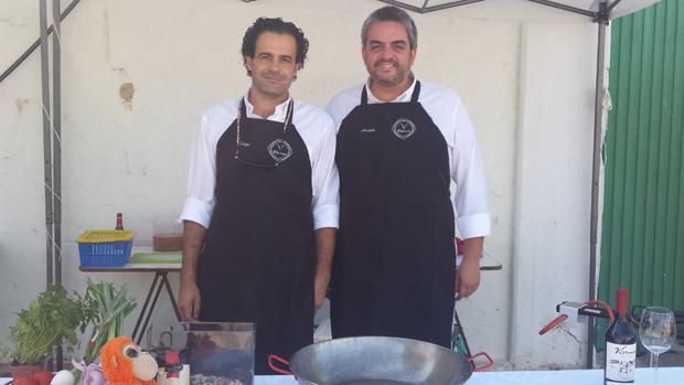 Luis Felipe y José Antonio