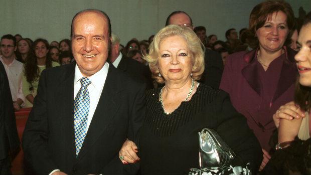 «Chiquito de la Calzada» junto a Pepita, su desaparecida esposa / ABC