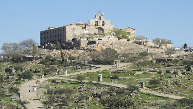 Santuario de la Virgen de la Cabeza en Andújar.