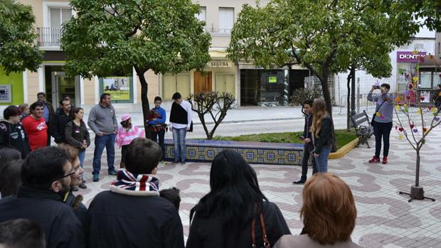 Actividad con jóvenes en el centro de Dos Hermanas