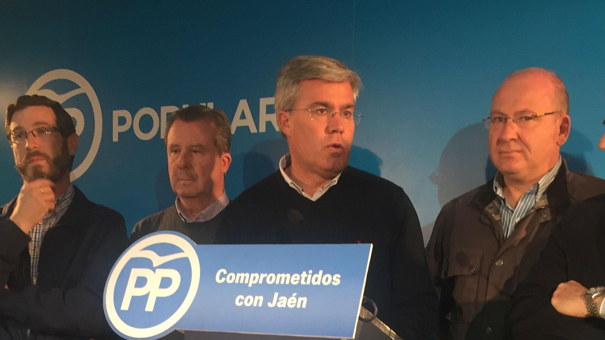 José Enrique Fernández de Moya, durante la comparecencia derivada de su elección