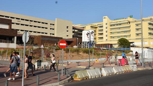 Obras de ampliación del Hospital Costa del Sol / J.J.M.