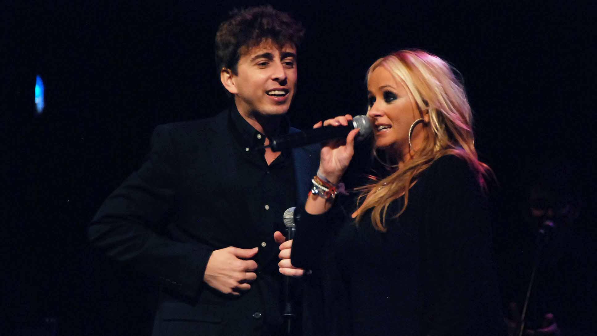 Juanlu Montoya en un concierto reciente con La Húngara