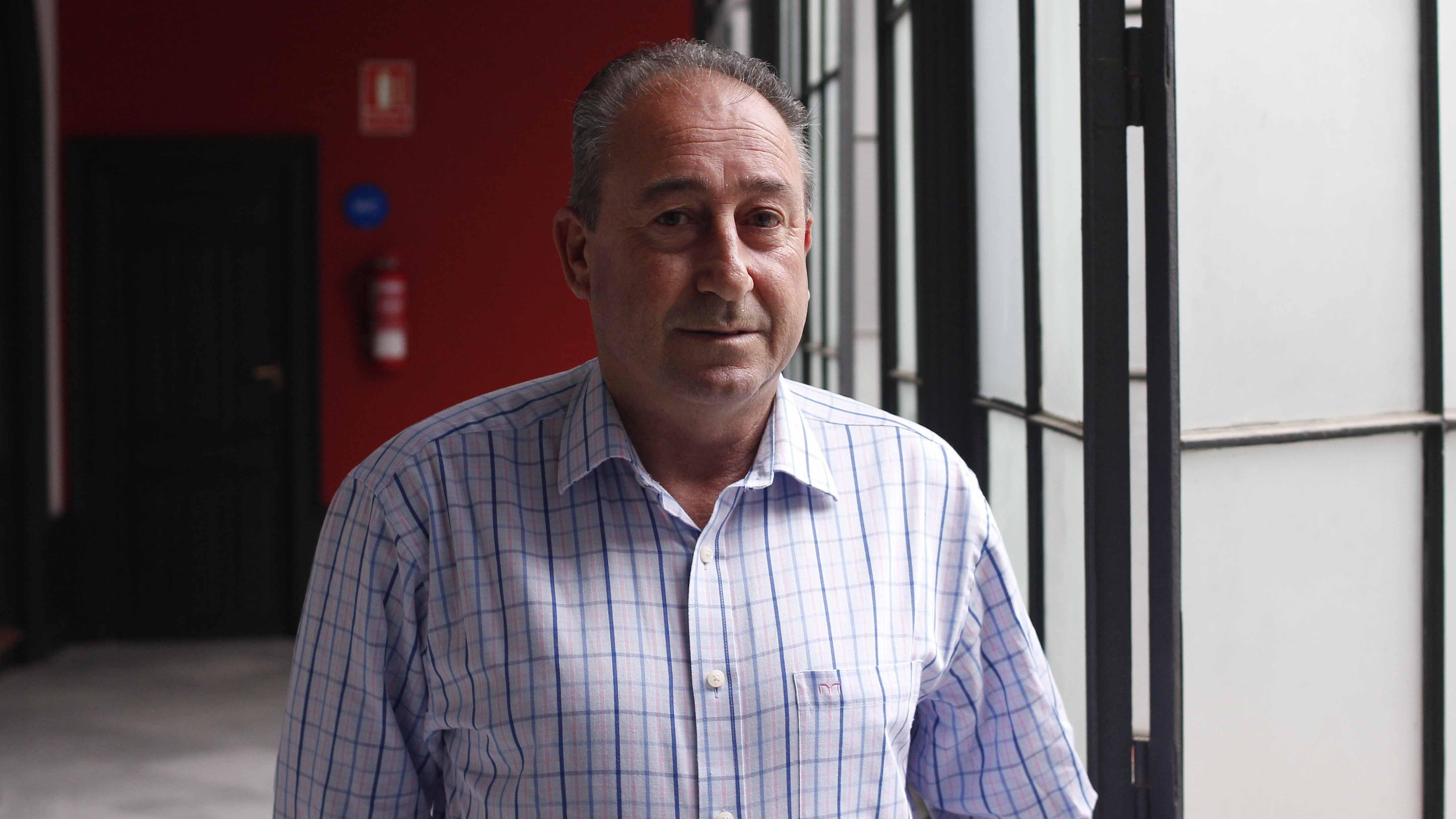 El concejal utrerano Vicente Llorca