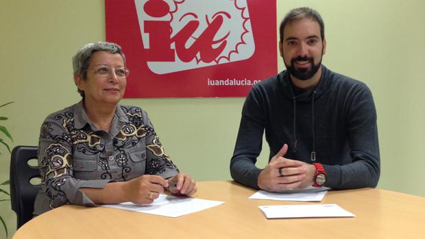 Francisca Sánchez y Francisco García Parejo, de Izquierda Unida Dos Hermanas