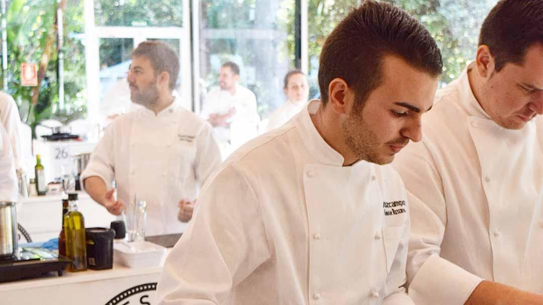 El joven cocinero utrerano Daniel León