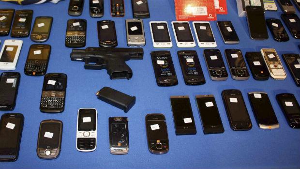 Móviles recuperado por la Policía Nacional en otra operación