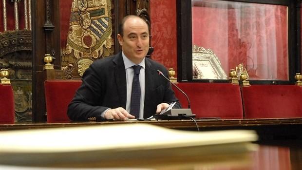El concejal del PP de Granada, Juan García Montero. / EP
