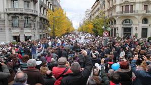 Granada protesta por tercera vez contra la fusión hospitalaria