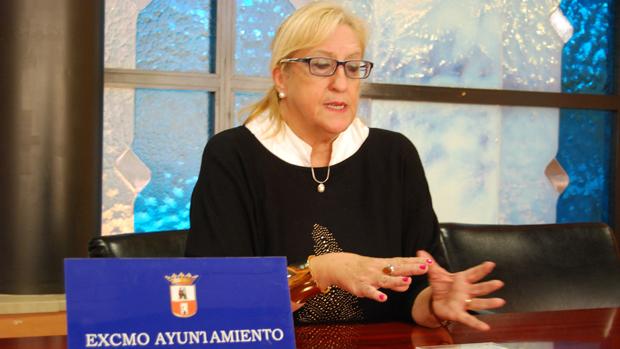 La delegada de Educación, María Antonia Naharro