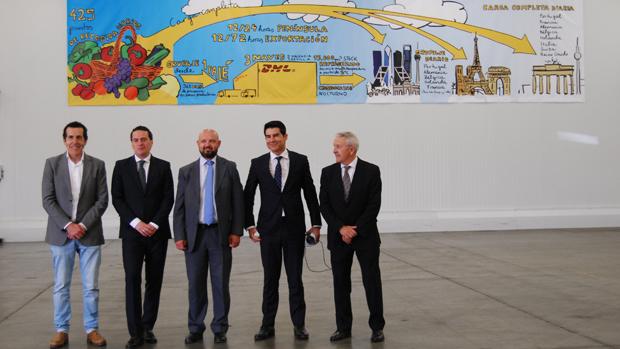 Inauguración del centro logístico de Dos Hermanas
