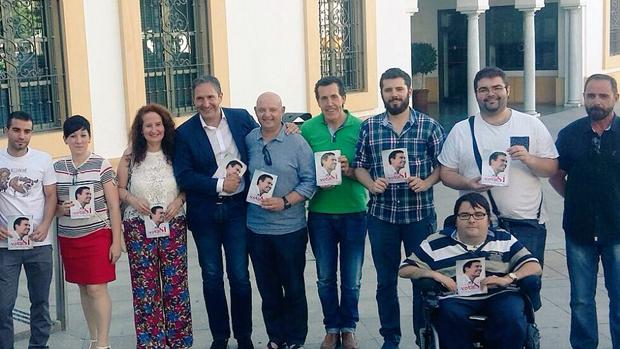 Socialistas nazarenos en un acto de apoyo a Sánchez / ABC