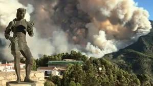 El incendio de Segura de la Sierra obliga a desalojar a 270 personas