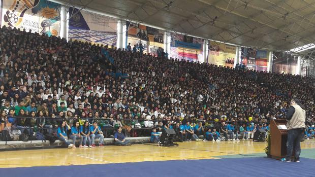 Las conferencias de Vico en México generan gran expectación