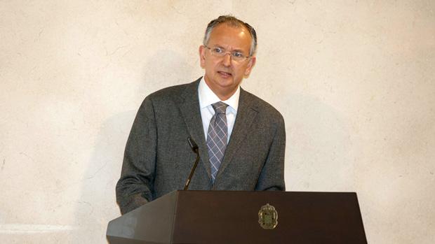 El magistrado Luis Miguel Columna