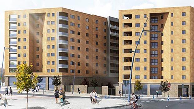 Imagen de las futuras viviendas