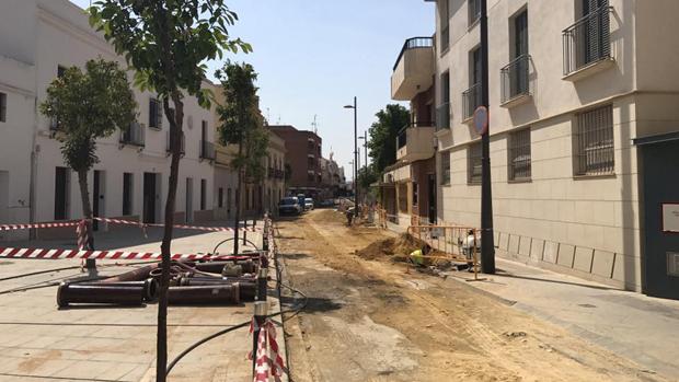 Una de las calles donde se han realizado mejoras