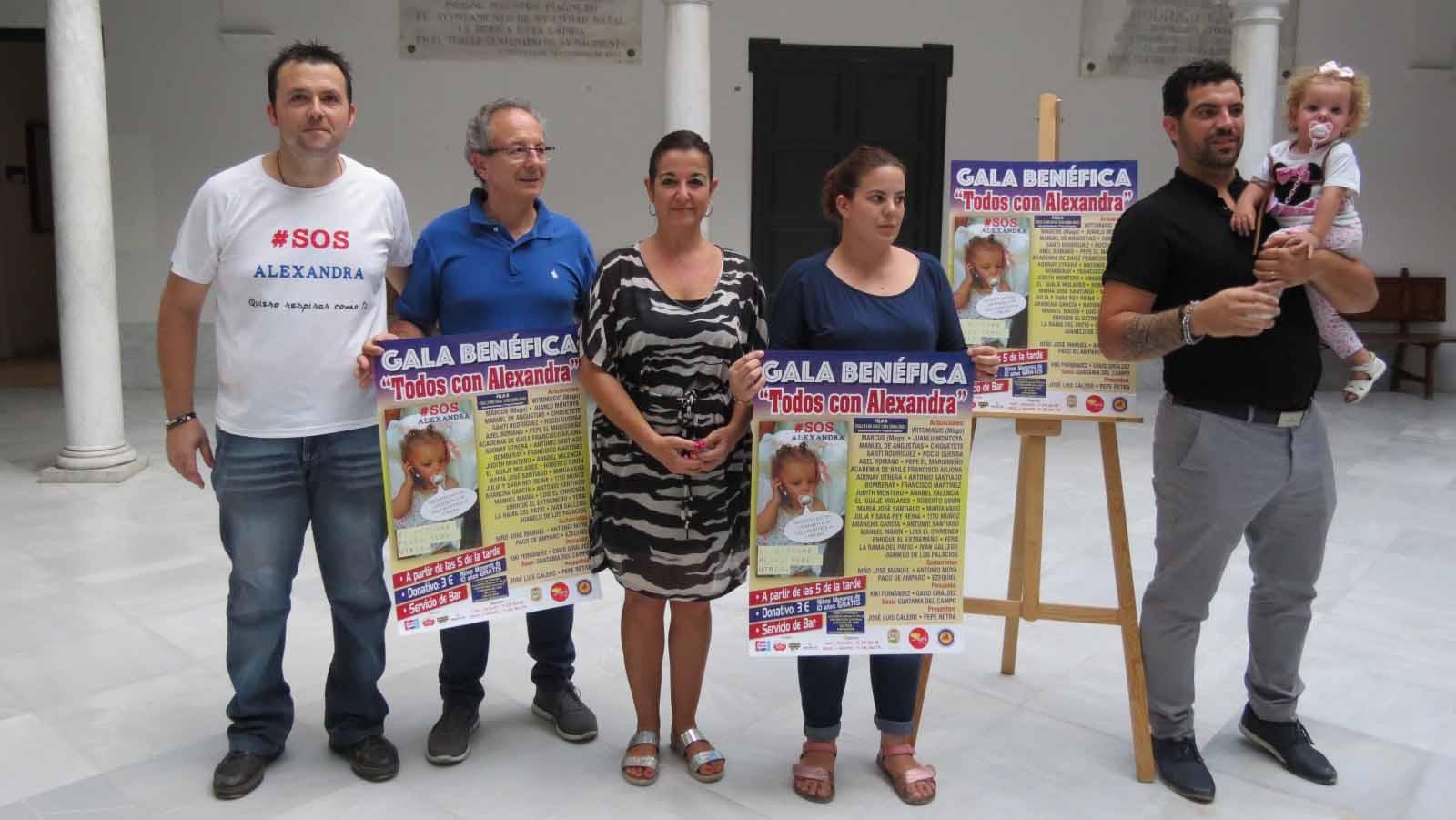 Presentación del evento solidario en Utrera