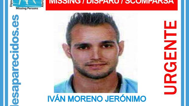 Iván Moreno Jerónimo, el joven desaparecido en Granada / ABC