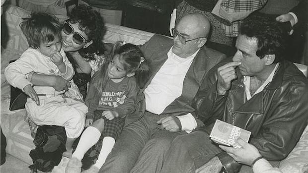 La familia Nakachian tras el secuestro