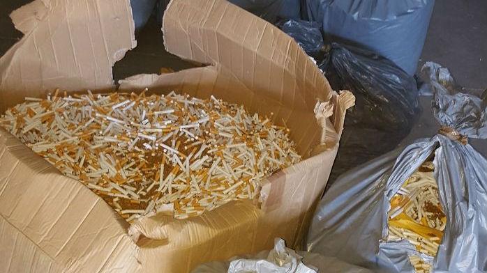 El tabaco ha sido descubierto en una nave industrial de Andújar