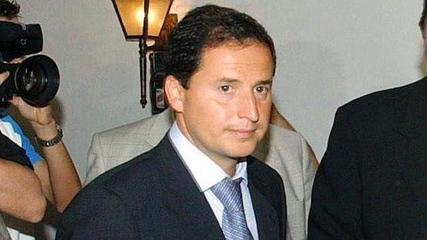 Carlos Fernández cuando era concejal de Marbella