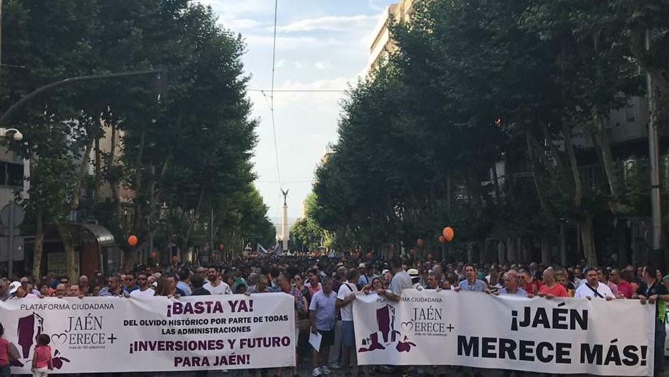 Cerca de 7.000 personas participaron en la manifestación de julio