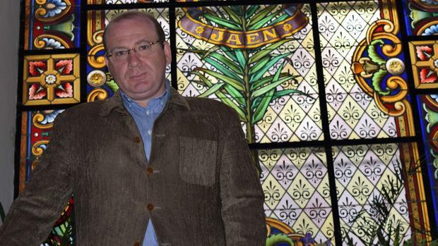 El alcalde de Jaén, Javier Márquez, en el Ayuntamiento.