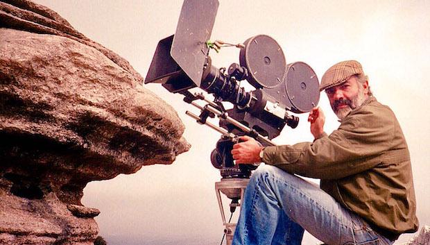 Juan Lebrón rodando en El Torcal