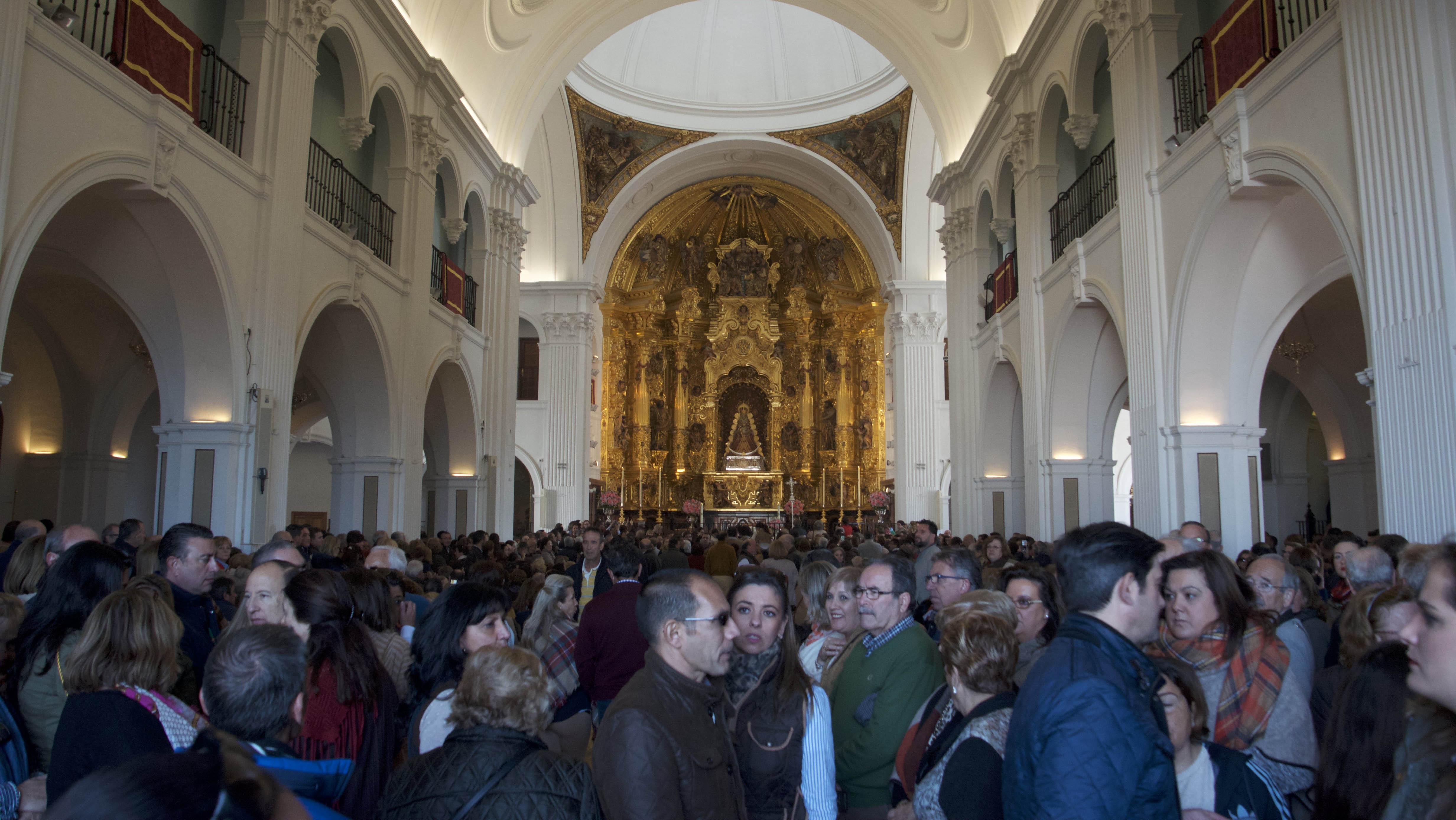 La aldea almonteña multiplica su población durante el fin de semana de la peregrinación de Triana