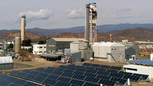 Instalaciones de desalación de agua mediante energía solar en la PSA