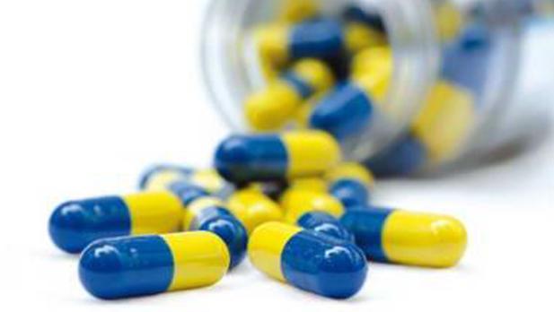 Imagen genérica de antibióticos
