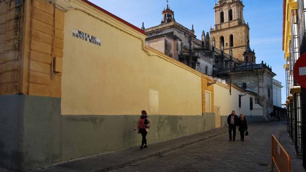 La zona afectada es parte del histórico barrio de Santa María