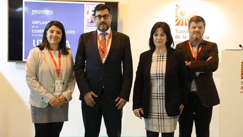 El alcalde de Utrera y la delegada de Turismo han viajado a Fitur