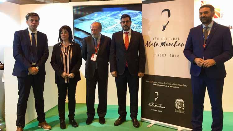 En la presentación estuvieron presentes el presidente de Diputación y el Consejero de Turismo