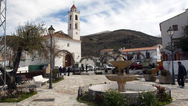 Plaza del Ayuntamiento de Bacares / ABC