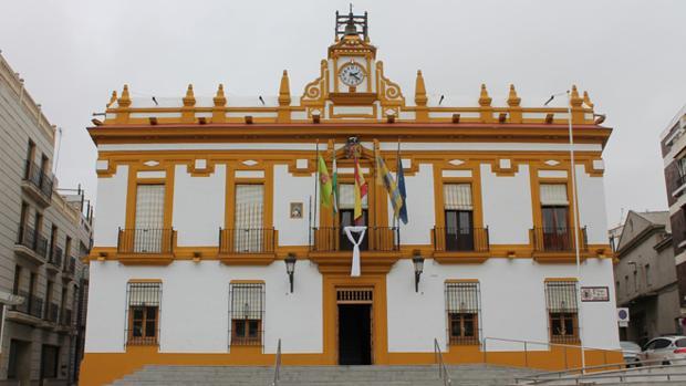 Fachada del Ayuntamiento de Bailén
