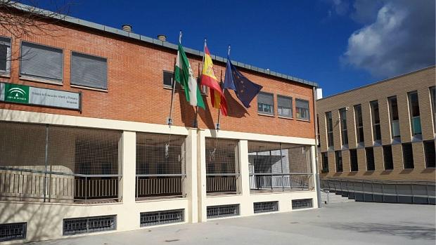 El CEIP Arrayanes, en la Zona Norte de Granada