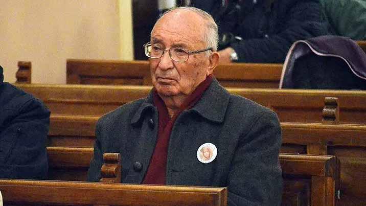 José Antonio Villanueva en el salón de plenos de Utrera