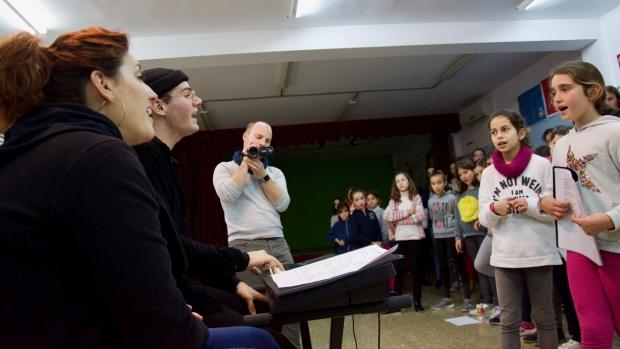 El centro educativo ha encontrado en la música una herramienta educativa de gran utilidad