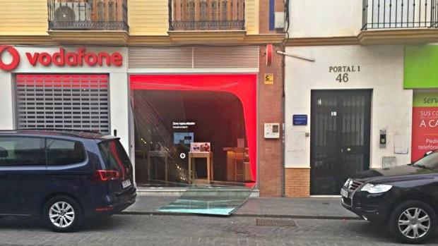 El robo se realizó de madrugada en pleno centro de la ciudad